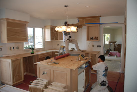 Painting Kitchen Cabinets In Oxnard Ca