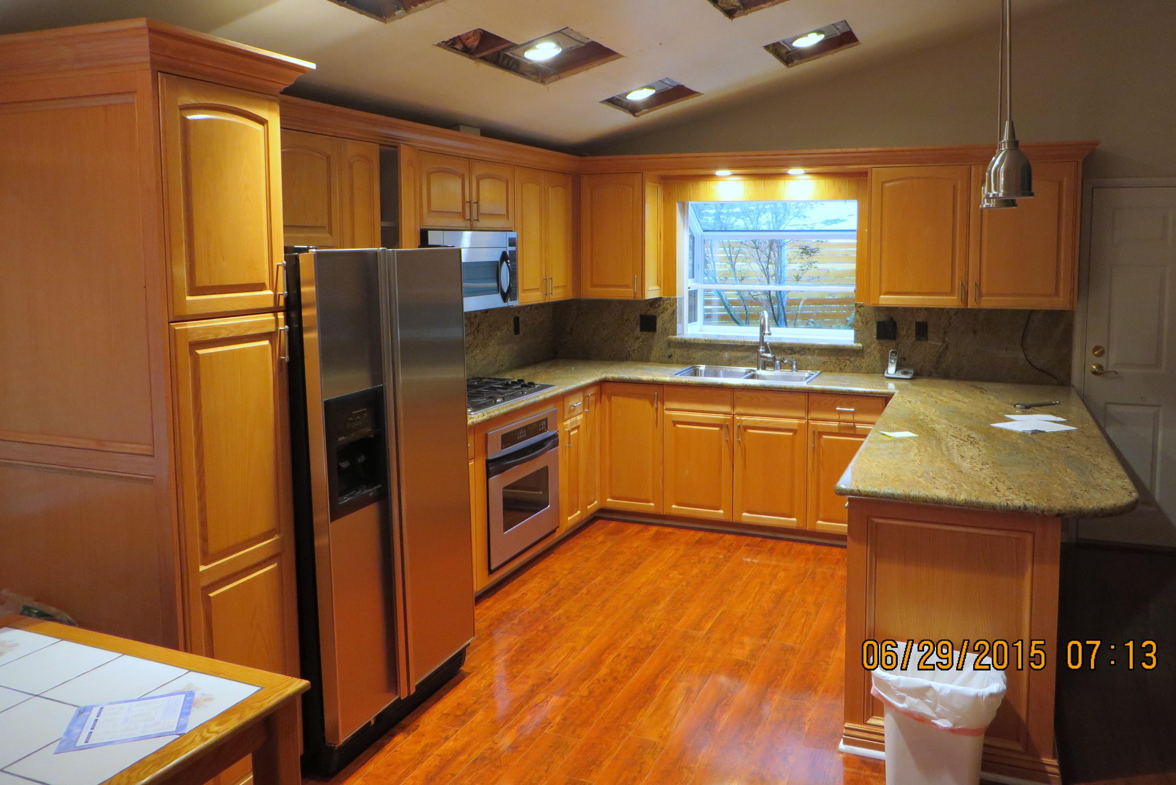 Interior Kitchen Cabinets - Woodland Hills, California