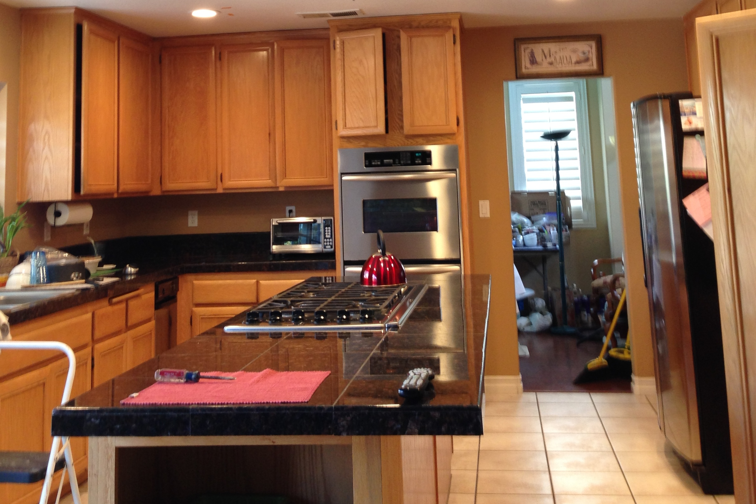 Kitchen cabinets paint job residential oxnard california for Kitchen cabinets gold coast